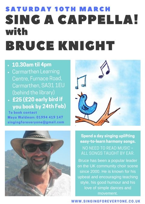 Sing a cappella with Bruce Knight – Natural Voice Network