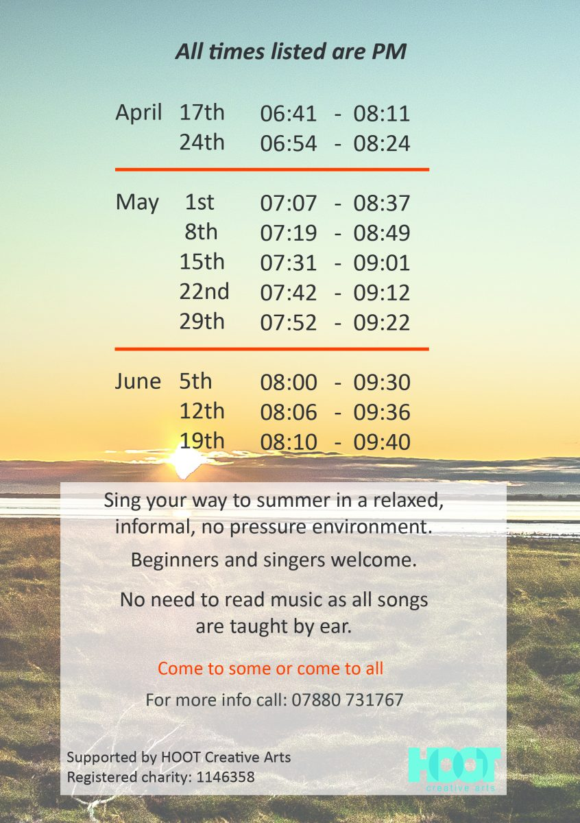 Sunset Sing 2018 – Natural Voice Network
